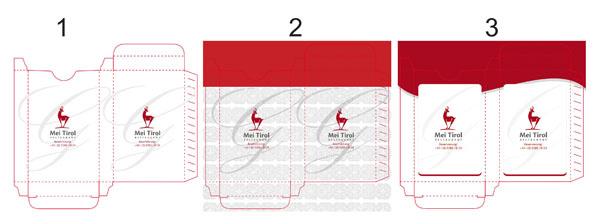 Дизайн на картонена кутия на карти за игра
