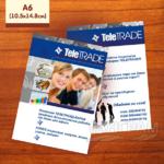 Флаер Tele Trade