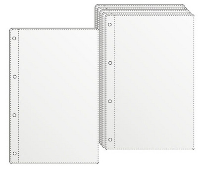 Прозрачни джобове за менюта