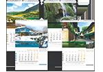 Многолистови календари за 2015 - етно, с кадри от България, авторски