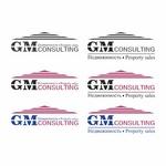 Фирмен знак на фирма за недвижимости GM consulting