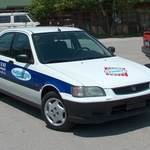 рекламен етикет на автомобил - Маринери