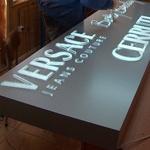 табела на Versage и Cerruti