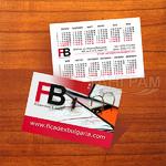 Джобен календар Ficadex Bulgaria