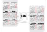 Джобен календар №4 за 2017