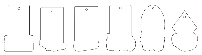 ароматизатори щанц форми