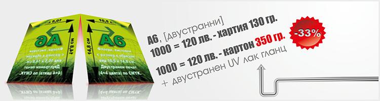 Флаер - 10.5х14.8см