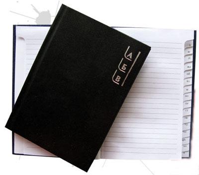 Календар бележник 4209 Азбучник А5