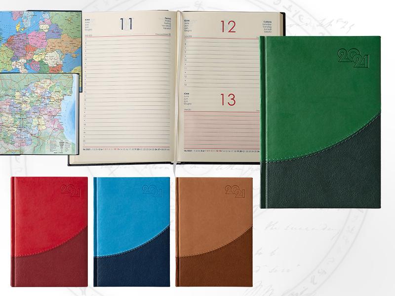 Календар бележник 6031 Престиж Лукс
