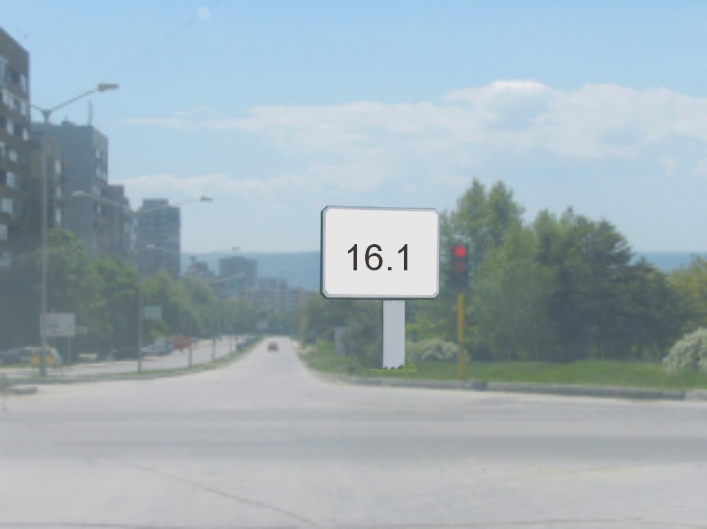 Билбордове под наем позиция 16.1: Варна, бул. Република - бул. Цар Освободител