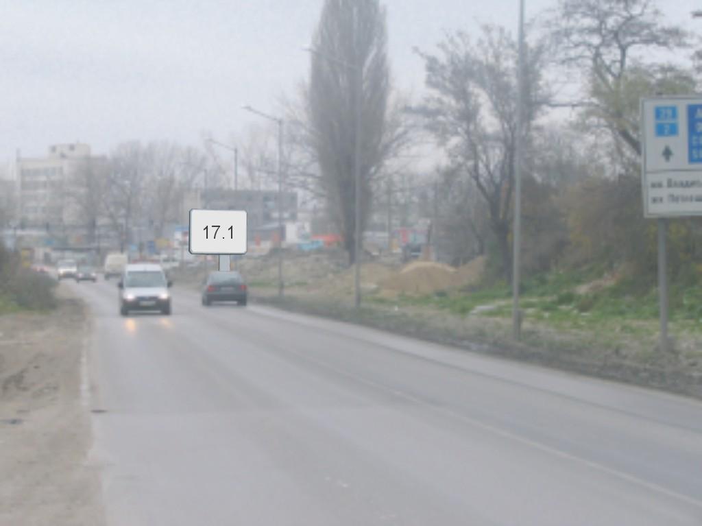 Билбордове под наем позиция 17.1: Варна, ул. Девня ул. Р. Даскалов