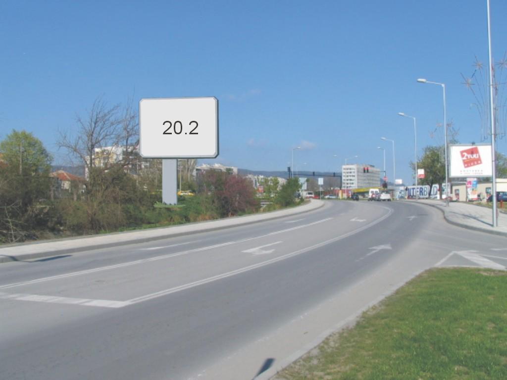 Билбордове под наем позиция 20,2: Варна, бул. В. Левски