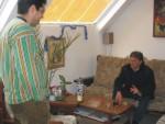 Делова среща между Милчо Матев и Ивайло Манахов