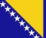 знаме Босна и Херцеговина